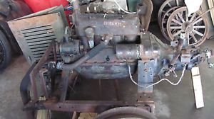 Vintage Ford Model A Engine Transmission on STAND1928 1929 1930 1931 Will SHIP