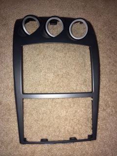 03 05 Nissan 350Z Center Dash Radio Trim Bezel