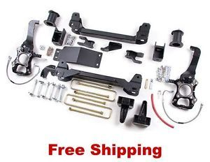 "04 08 Ford F150 4WD Zone Offroad 6"" Suspension Lift Kit PN F7"