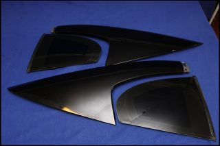 03 04 Ford Mustang Mach 1 01 Bullitt Sail Panels Quarter Windows Black
