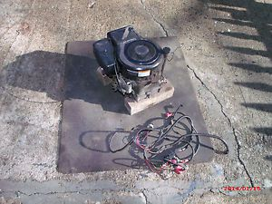 10 5 Briggs Stratton Vertical Shaft Engine Motor Lawn Tractor Rider Mower Used