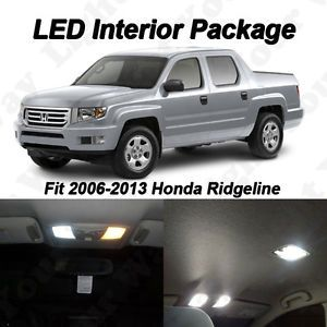 16 x Xenon White SMD LED Interior Lights Package for 2006 2013 Honda Ridgeline