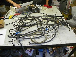 Harley Parts Lot Brake Lines Take Offs Touring Softail Dyna Sportster
