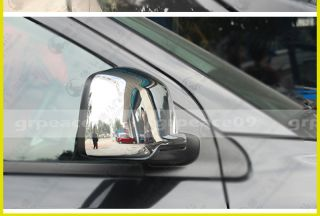 Chrome Body Side Mirror Cover Trim Molding Exterior 2pcs for 2013 Dodge Journey