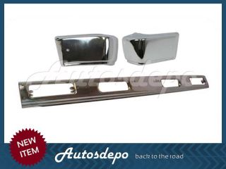 83 86 85 84 Nissan 720 Pickup 2 4WD Front Bumper Chrome