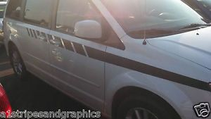 All Year Dodge Caravan Journey Fender Door Stripes Stripe Graphics Town Country
