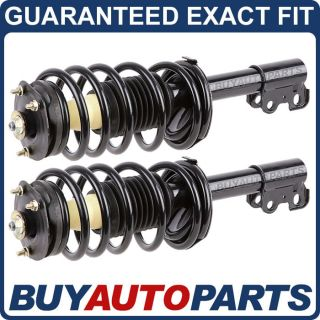 Pair Brand New Front Left Right Complete Strut Shock Coil Spring Assemblies