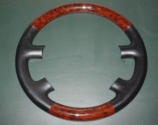 VW 98 00 Passat B5 Wood Steering Wheel Cap