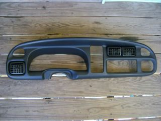 1998 1999 2000 2001 Dodge RAM 1500 2500 3500 Dash Radio Bezel Trim