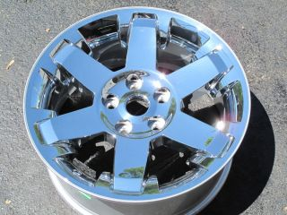 "20"" Dodge RAM 1500 Factory Style New Chrome Clad Wheel Rim 2365"