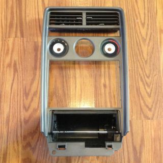 1985 Mazda RX7 Dash Radio Bezel Brown RX 7