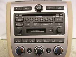 Nissan CD 6 Disc Player Radio Changer Repair Murano Pathfinder Maxima 350Z