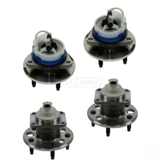 Wheel Bearing Hub Front Rear Kit Set of 4 for Buick Chevy Pontiac Saturn New