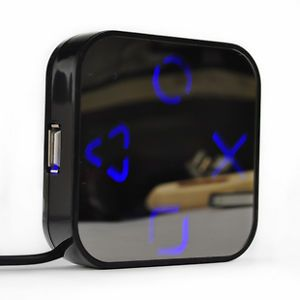 High Speed 4 Port USB 2 0 Hub Splitter Cable Adapter Magic Mirror Hub for PC