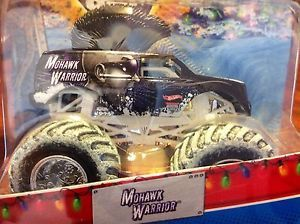 "Hot Wheels ""Mohawk Warrior"" Special Holiday Edition Snow Tires Monster Truck"