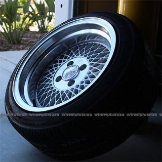 "15"" 15x8 5 Klutch SL1 Wheel Tire Pkg 4x100 Et 17 Silver Honda Civic Falken 912"