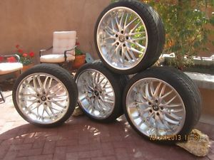 20x8 5 10 MRR GT1 Staggered Wheels and Falken 452 Tires BMW E31 E38