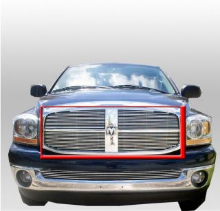 2006 2008 Dodge RAM 1500 2500 Upper Billet Grille Grill