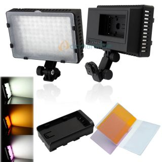Pro CN 126 LED Camera Video Lamp Light for Canon Nikon Camera DV Camcorder US