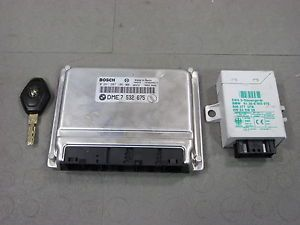 99 01 BMW E38 740i 740IL ECU DME ECM Engine Control Unit Computer 0 261 207 106