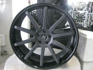 "24"" Koko Kuture Lindos Wheels Tires Dub 26 Forgiato Lexani asanti Giovanna MHT"