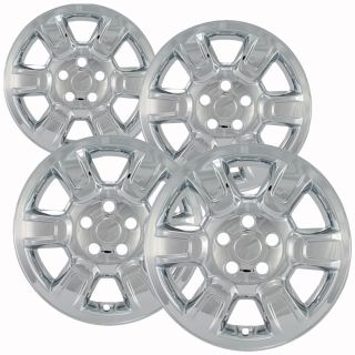 "4 PC Set Honda Ridgeline 17"" Chrome Wheel Skins Rim Covers Hub Caps Wheels"