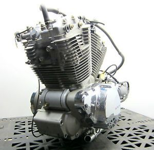 03 09 VTX 1300 Honda VTX1300 Bare Engine Motor Assembly with Carburetors