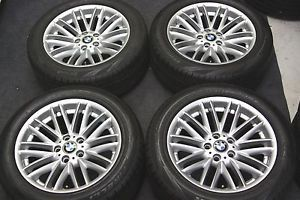 "Factory BMW 750LI 18"" Wheels Winter Snow Tires 7 Series 750i 745i 745LI"