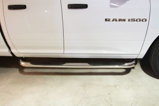 Stainless Nerf Side Bar Step Running Board Rail 09 14 Dodge RAM 1500 Quad Cab