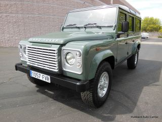 2007 Land Rover Defender 110 US Title Odometer in KM Actual Miles 40 728 WOW