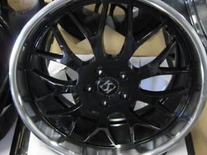 "20"" Koko KOUTURE Fann Wheels Tires asanti Dub Benz"