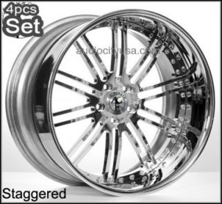 "22"" AC Forged Custom Build Wheels Rims 300C Magnum Charger Challenger"