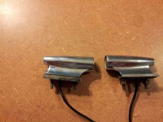 1967 1968 1969 Dodge Dart Plymouth Fury Fender Mounted Turn Signals Bullets