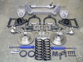 1964 1970 Ford Mustang Complete Front End Suspension Kit IFS Mustang II Manual
