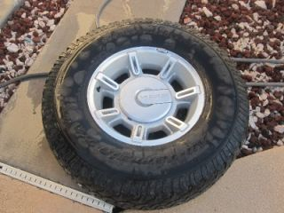 "Hummer ""H2"" 2003 2009 O E M 17 x 8 5 Alloy Wheel with BF Goodrich Tire"