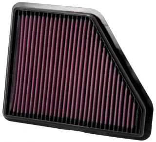 K N Air Filter 2010 2012 Chevy Equinox GMC Terrain w 2 4L or 3 0L Eng
