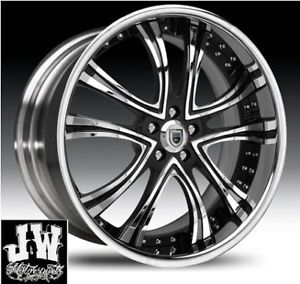 "24"" inch asanti AF159 Wheels Chevy Ford GMC Escalade"
