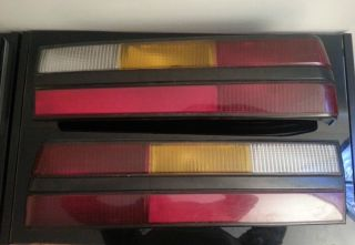 1987 1993 Ford Mustang 84 86 SVO Tail Lamps Lights Pair