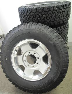 "17"" 8 Lug 2005 2012 RAM 2500 Factory Polished Wheels with BFGoodrich Tires"