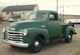 1950 Chevrolet Chevy 3100 Pickup Truck Vintage Cool 1948 1949 1951 1952 1953