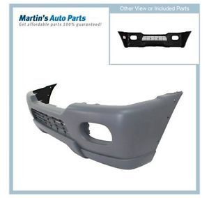 Primered New Bumper Cover Front Mitsubishi Montero Sport 2001 2000 Car MR496688