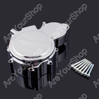 Stator Engine Cover Suzuki GSXR 600 750 GSXR600 GSXR750 2006 2011 Chrome