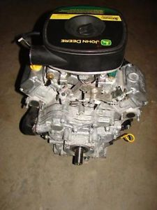 John Deere Kawasaki 27 H P FD750D Liquid Cooled V Twin Engine Only 88 6 Hours