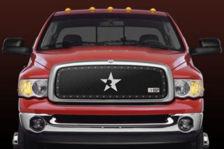 RBP 251458 Dodge RAM Main Billet Grille RX Series Black Truck Grill 1 PC