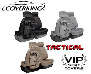 Coverking Tactical Ballistic MOLLE Seat Covers for Dodge RAM Truck 150 1500