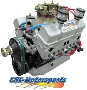 Wissota Late Model SB Chevy 357 Spec Stage 3 Circle Track Race Engine Dry Sump