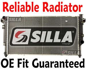 Silla Dodge RAM i6 Cummins Diesel Engine 2500 3500 Pickup Truck Radiator