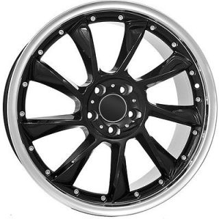 18 inch Mercedes Benz Wheels Rims Black Custom Aftermarket