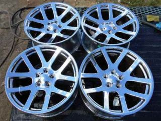 "Aftermarket Chrome Alloy Wheel Rims 20"" for RAM SRT10 Style"