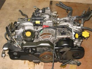 99 00 Subaru Legacy Outback Engine JDM EJ20 SOHC 2 0L Replacement EJ25 SOHC 2 5L